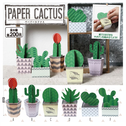 PAPER CACTUS【ペーパーカクタス】サムネイル0